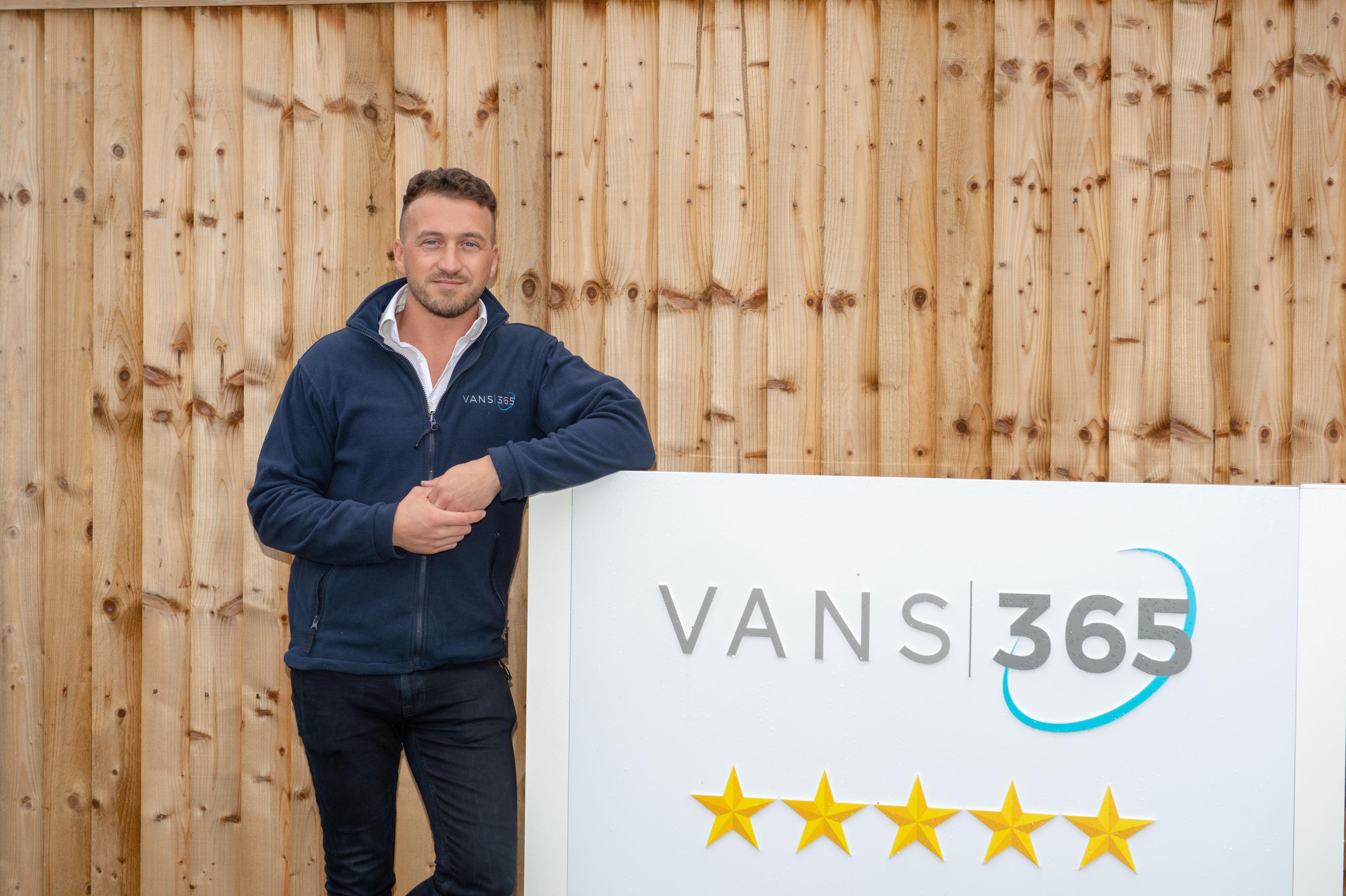 Jordon Managing Director of Vans 365